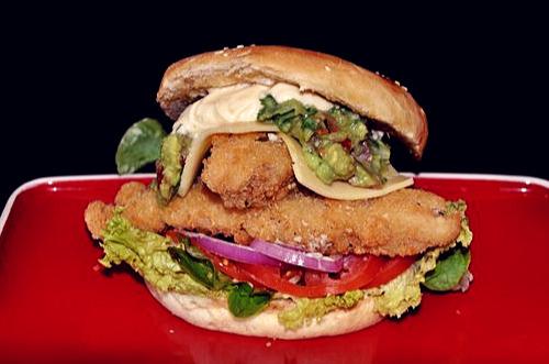 Sandwich Recipes Acapulco Fish Burgers