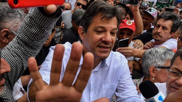 """Las """"fake news"""" en Brasil buscan perjudicar a Fernando Haddad"""