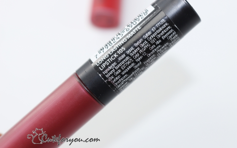 Get the look long lasting labiales matte farmacity look beauty blogger argentina