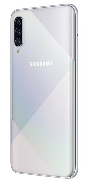 Samsung Galaxy A50s Prism Crush White