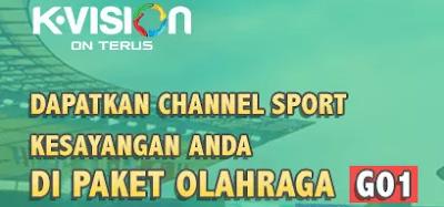 Daftar Channel Paket Olahraga Bromo
