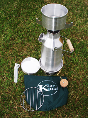 The Backwoodsman Kelly Kettle For Cycle Touring