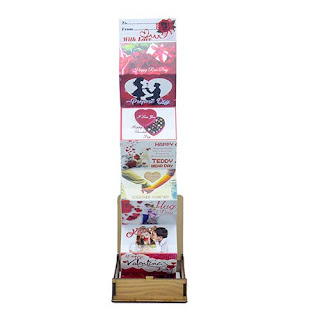 Valentine Special Wooden Greeting Card Box