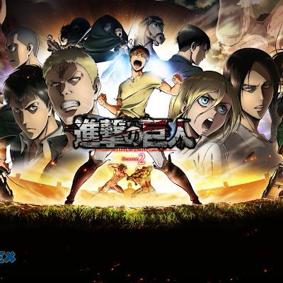 Shingeki no Kyojin Season 2 Audio Castellano 12/12 MEGA y MediaFire