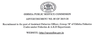 OPSC Assistant Fisheries Officer (AFO) Previous Papers & Syllabus 2019