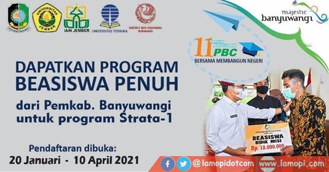 Beasiswa Pemkab Banyuwangi