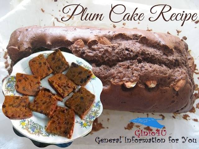 What is Plum Cake Made of? | Christmas Special Cake