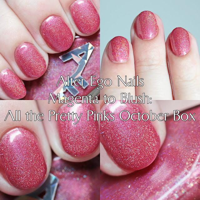 Alter Ego Nails Magenta to Blush: All the Pretty Pinks October Box Polish