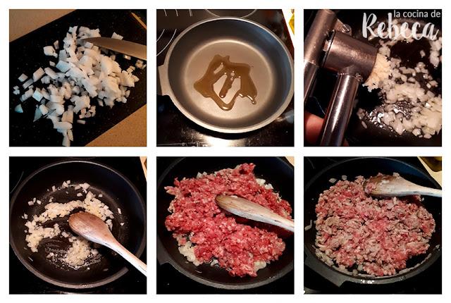 Receta de patatas asadas rellenas de carne picada 01