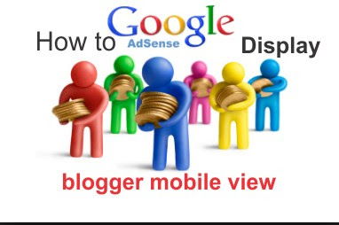 how to place adsense code below post title in blogger mobile view
