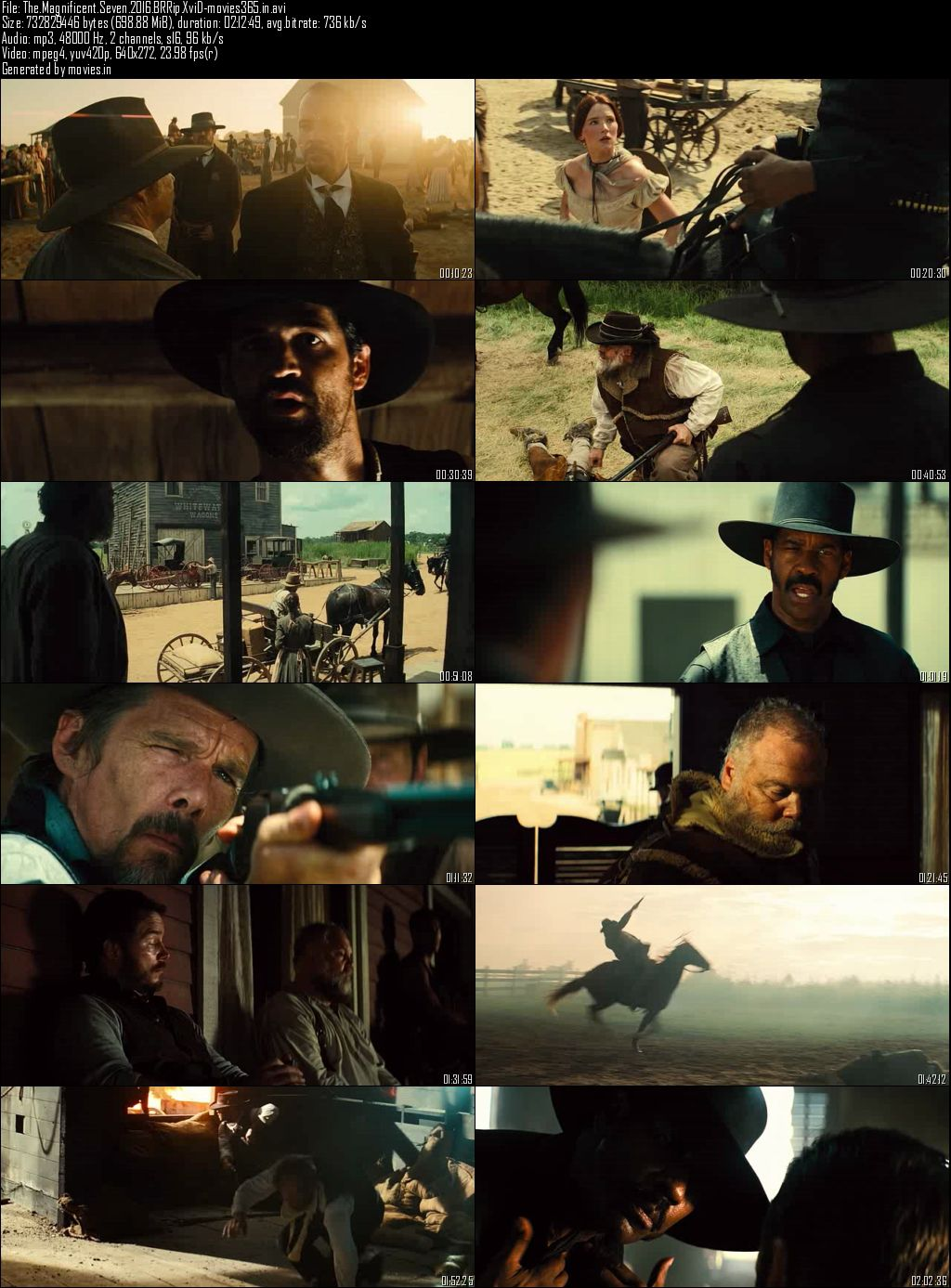 Single Resumable Download Link For Movie The Magnificent Seven (2016) Download And Watch Online For Free