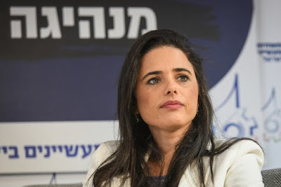 Ayelet Shaked defende coalizão de direita forte