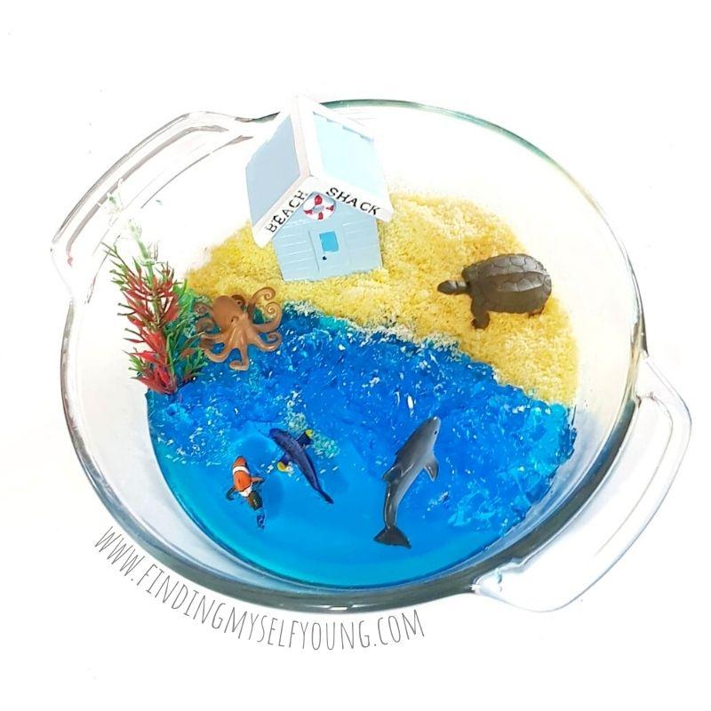 jelly beach sensory small world play