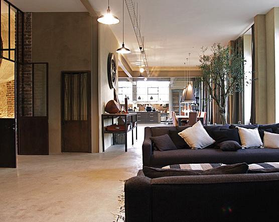 Estilo rustico loft rustico y moderno for Rustico moderno
