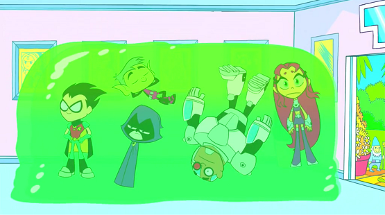 Teen Titans Go Laundry Day