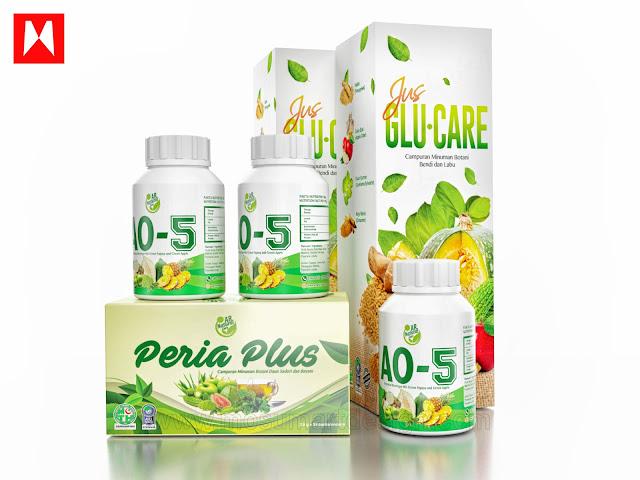 jus 3d kesihatan lega kotak produk