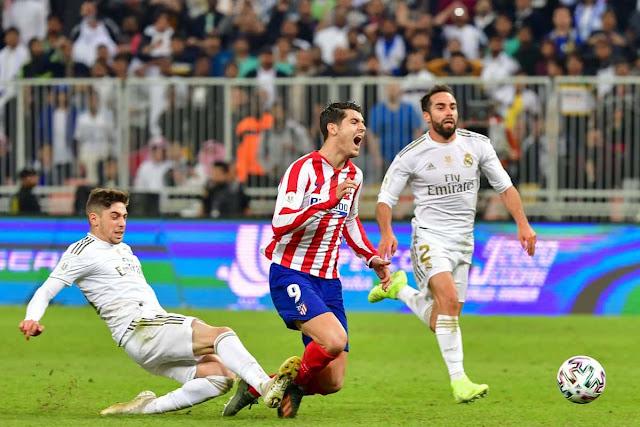 مشاهدة مباراة ريال مدريد وأتلتيكو مدريد بث مباشر