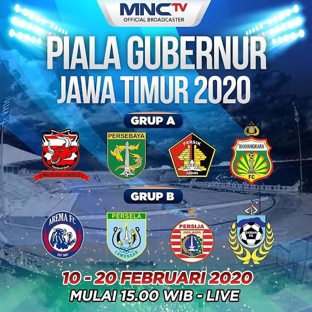 Jadwal Piala Gubernur Jawa Timur 2020
