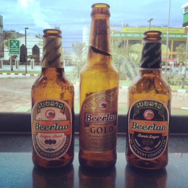 Beer Lao classic flavors