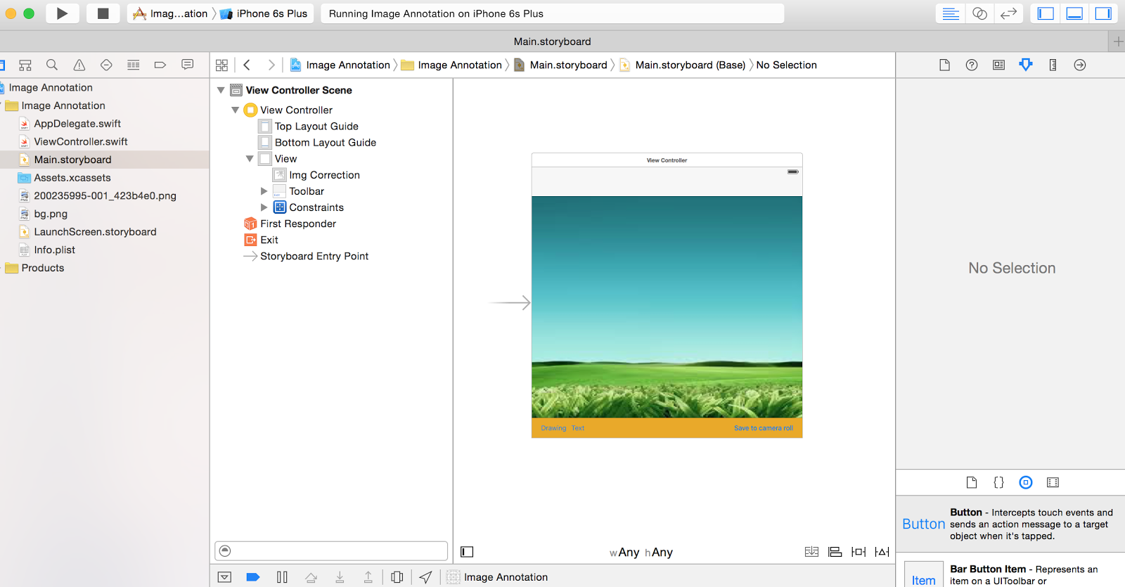 iOS Bucket: Annotating UIImage (Drawing and writing Text on
