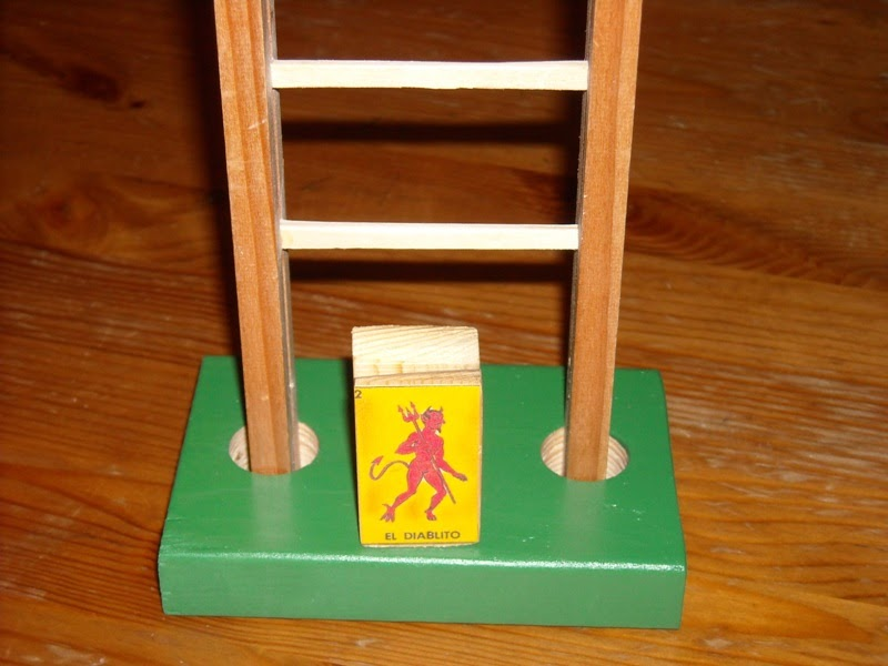 Making A Tumble Down The Ladder Toy Toy Making Dad