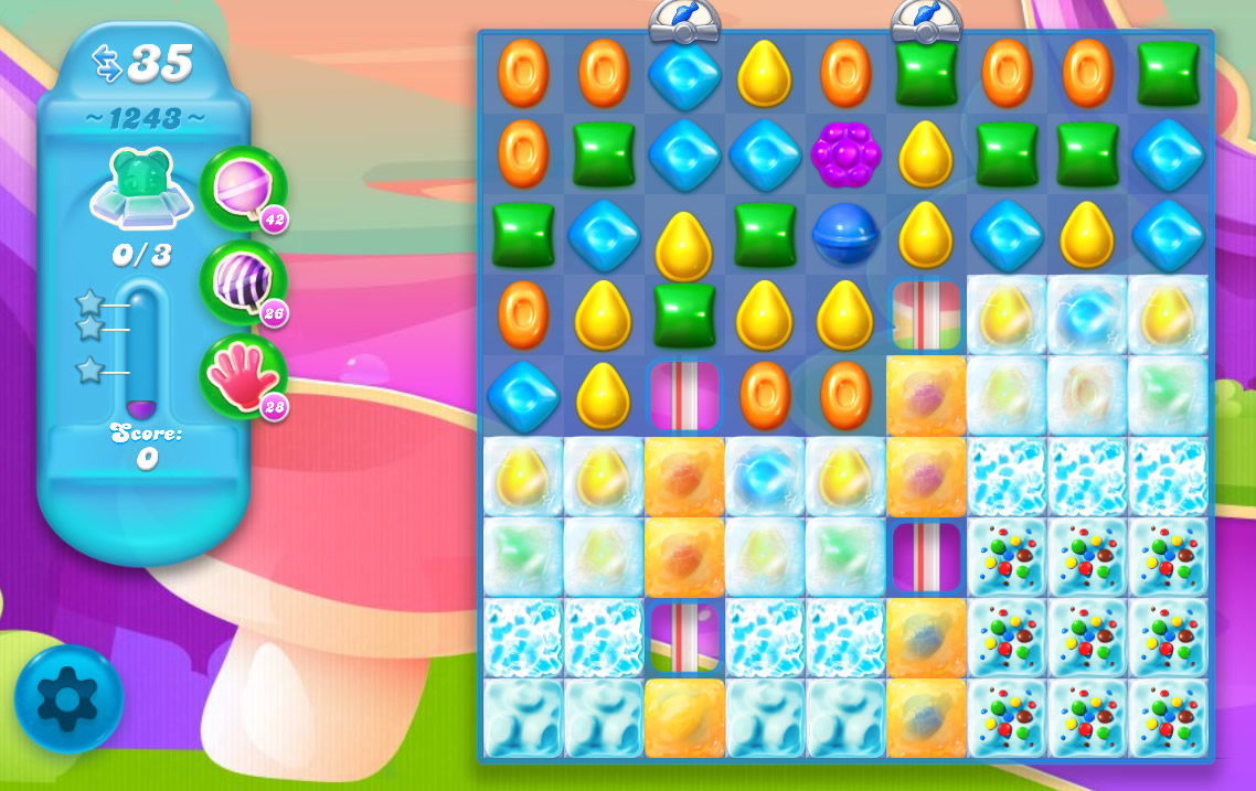Candy Crush Soda Saga level 1243