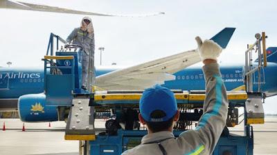 Dịch vụ mặt đất là một trong những mảng kinh doanh quan trọng, mang lại lợi nhuận lớn cho Vietnam Airlines