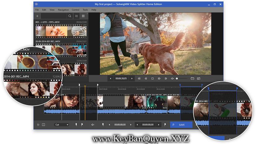SolveigMM Video Splitter 6.1.1811.06 Business Edition Full Key, Phần mềm cắt và biên tập Phim + Video