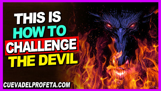 This is how to challenge the Devil - William Marrion Branham