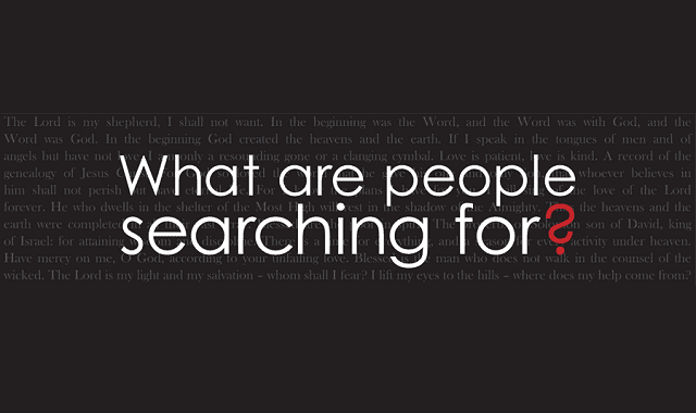 What Are People Searching For? #infographic