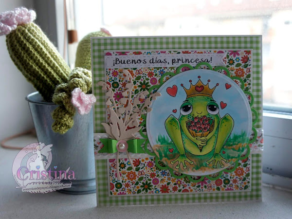 The Frog Prince, a card for a princess.