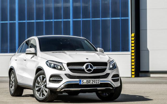 Mercedes GLE 400 4MATIC Coupe có thiết kế sang trọng, mạnh mẽ