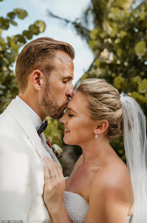 England captain Harry Kane weds childhood sweetheart Katie Goodland
