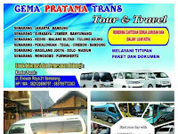 Travel Gema Pratama Semarang Bandung PP