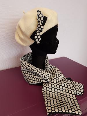 Patouche Chapeaux béret basque laine hiver