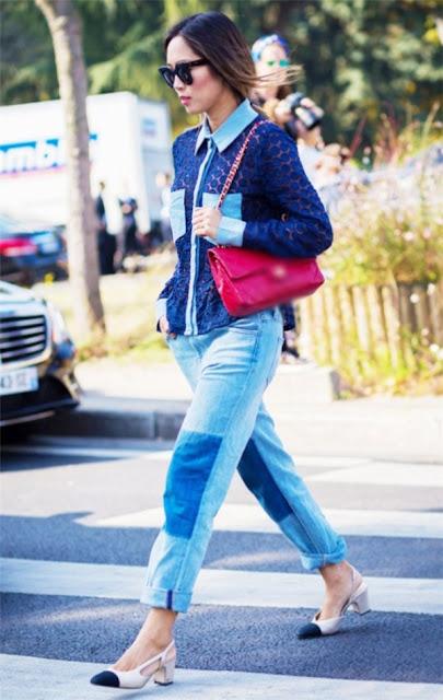 """Quần jean 2 màu - xu hướng thời trang """"cực chất """" dành cho giới trẻ"""