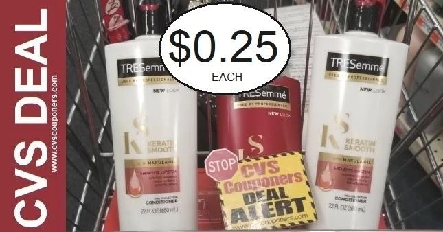 Tresemme Shampoo CVS Deal 9-12-9-18