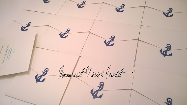 li1 Le partecipazioni pocket tema mare di Liliana e FrancescoColore Bianco Colore Blu Partecipazioni Pocket Tema mare