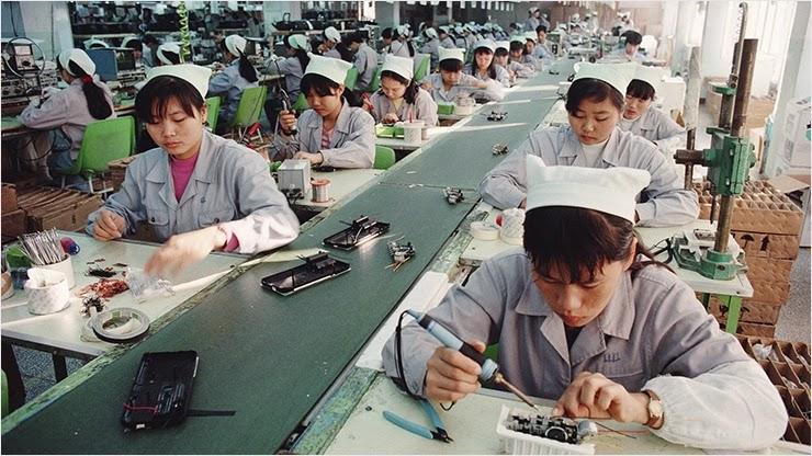 Производственная активность Китая увеличилась