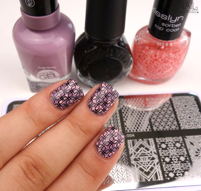 Beauty Big Bang stamping plate XL-004_manikira