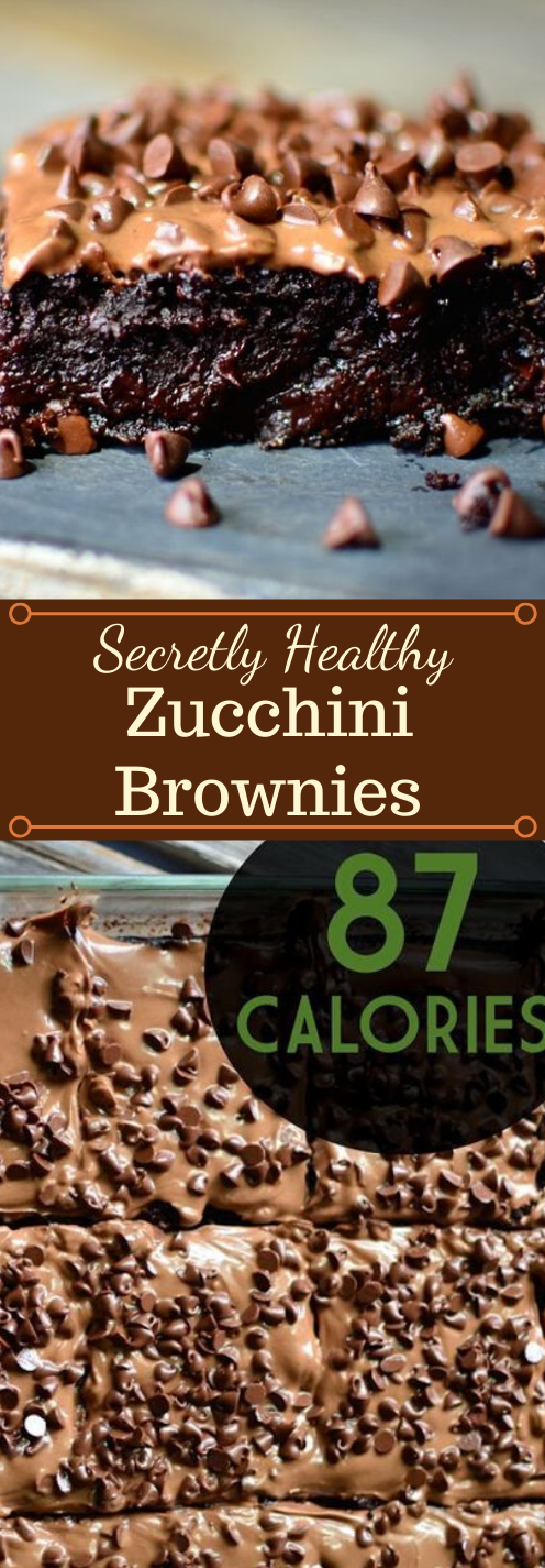 Secretly Healthy 87 Calorie Brownies #desserts #cakes #bars #brownies #recipes