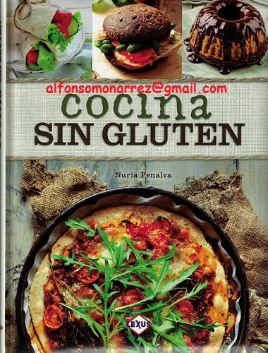 libros medicina cocina sin gluten recetas