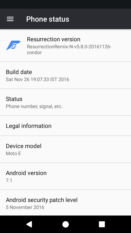 ROM][OFFICIAL][OMS][7 1 1_r9][CONDOR]RESURRECTION REMIX [5 8 1] For