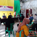 kepala Desa  Pulau Palas bersama Kapolsek Sosialisasikan Pelaksanaan Pemberlakuan Pembatasan Kegiatan masyarakat Berskala Mikro