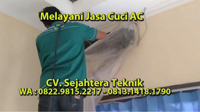 Jasa Cuci AC Daerah Pengasinan - Depok