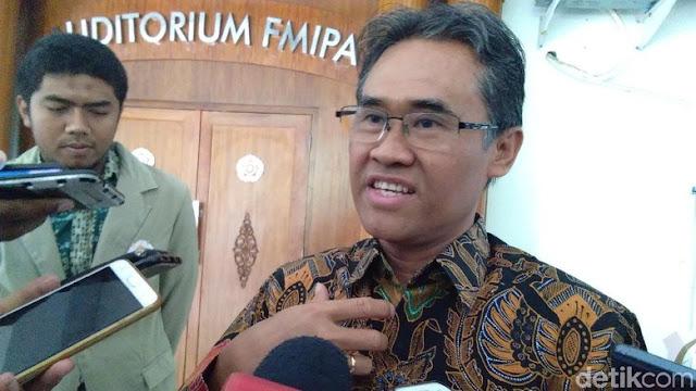Rektor UGM Bantah Tolak Panggilan ORI Soal Dugaan Maladministrasi