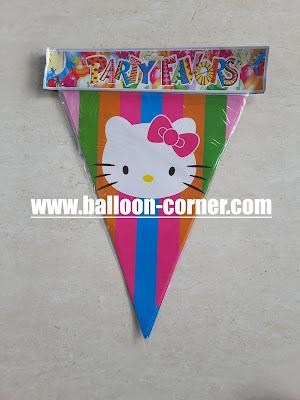 Bunting Flag Hello Kitty