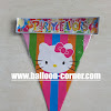 Bunting Flag Motif HELLO KITTY