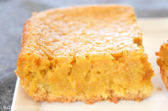 pumpkin gooey butter cake from scratch