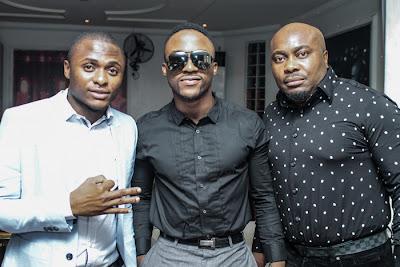 Iyanya and Ubi at African Muzik Magazine launch